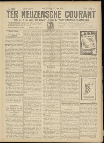 Ter Neuzensche Courant. Algemeen Nieuws- en Advertentieblad voor Zeeuwsch-Vlaanderen / Neuzensche Courant ... (idem) / (Algemeen) nieuws en advertentieblad voor Zeeuwsch-Vlaanderen 1937-03-12