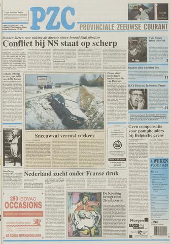 Provinciale Zeeuwse Courant 1996-11-22