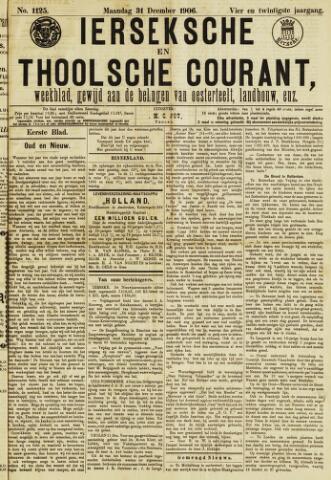 Ierseksche en Thoolsche Courant 1906-12-31