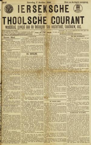 Ierseksche en Thoolsche Courant 1916-10-07