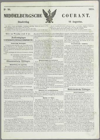 Middelburgsche Courant 1855-08-16