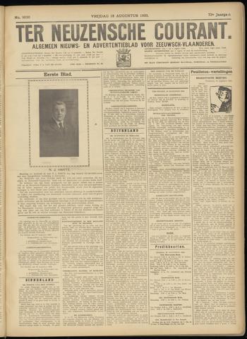 Ter Neuzensche Courant. Algemeen Nieuws- en Advertentieblad voor Zeeuwsch-Vlaanderen / Neuzensche Courant ... (idem) / (Algemeen) nieuws en advertentieblad voor Zeeuwsch-Vlaanderen 1933-08-18