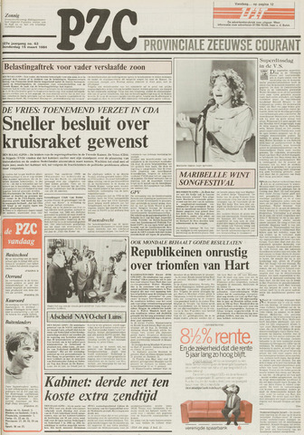 Provinciale Zeeuwse Courant 1984-03-15