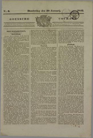 Goessche Courant 1842-01-20