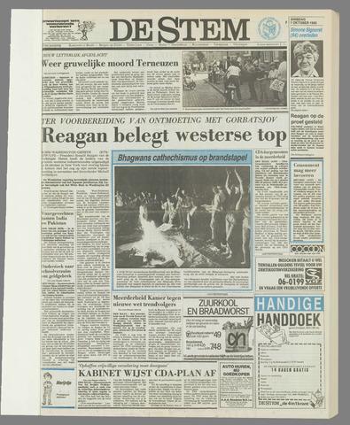 de Stem 1985-10-01