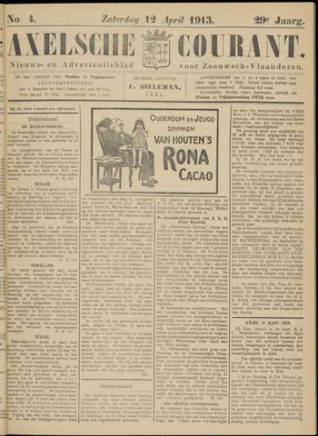 Axelsche Courant 1913-04-12