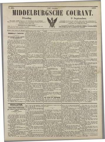 Middelburgsche Courant 1902-09-09
