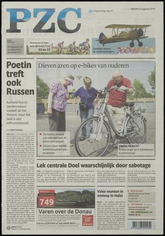 Provinciale Zeeuwse Courant 2014-08-08