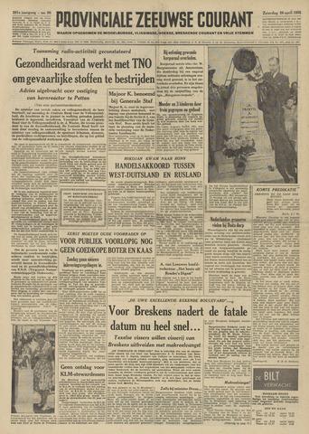 Provinciale Zeeuwse Courant 1958-04-26