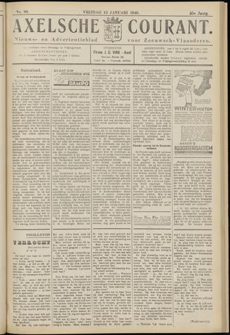 Axelsche Courant 1940-01-12