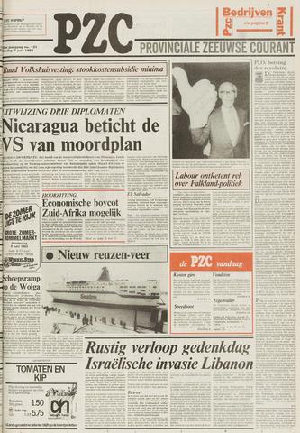 Provinciale Zeeuwse Courant 1983-06-07