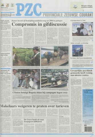 Provinciale Zeeuwse Courant 2000-08-30
