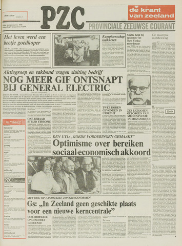 Provinciale Zeeuwse Courant 1977-08-06