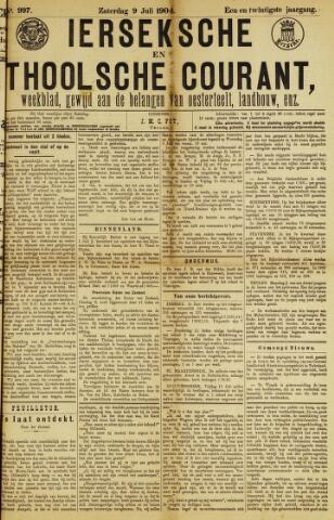 Ierseksche en Thoolsche Courant 1904-07-09