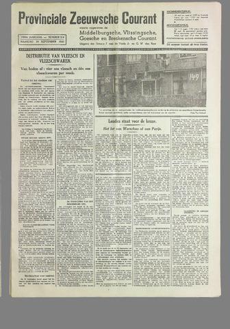 Provinciale Zeeuwse Courant 1940-09-16