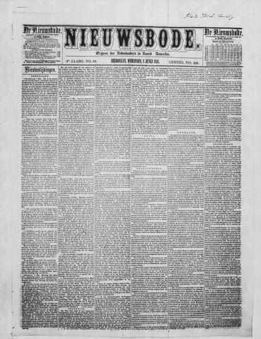 Sheboygan Nieuwsbode 1858-06-08