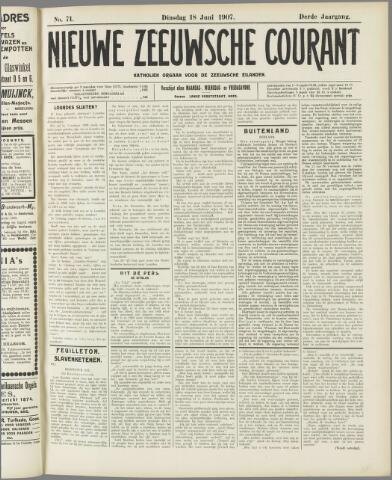 Nieuwe Zeeuwsche Courant 1907-06-18