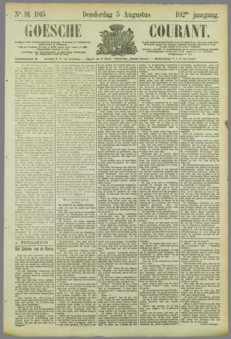 Goessche Courant 1915-08-05