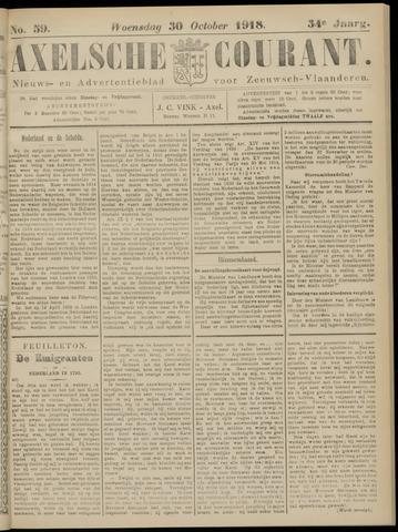 Axelsche Courant 1918-10-30