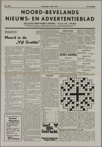 Noord-Bevelands Nieuws- en advertentieblad 1984-03-08