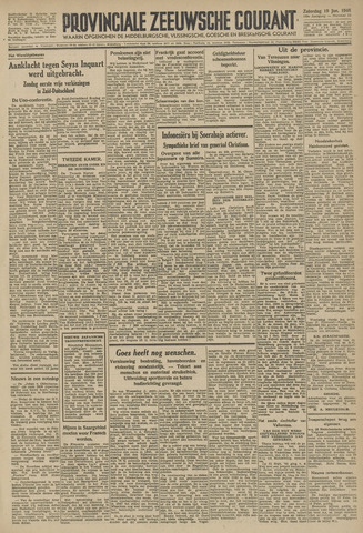 Provinciale Zeeuwse Courant 1946-01-19
