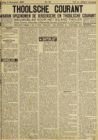 Ierseksche en Thoolsche Courant 1937-09-03