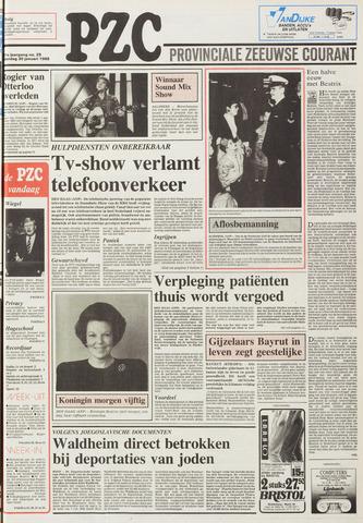 Provinciale Zeeuwse Courant 1988-01-30