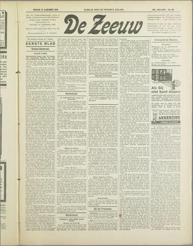 De Zeeuw. Christelijk-historisch nieuwsblad voor Zeeland 1934-12-14