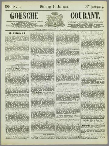 Goessche Courant 1896-01-14