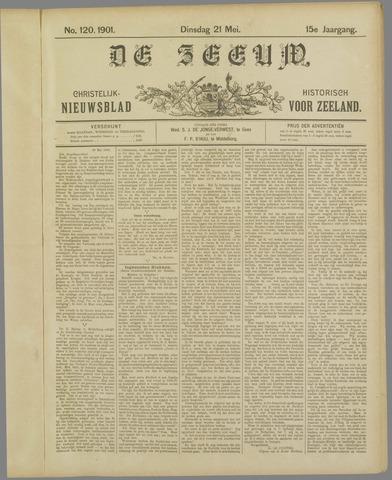 De Zeeuw. Christelijk-historisch nieuwsblad voor Zeeland 1901-05-21