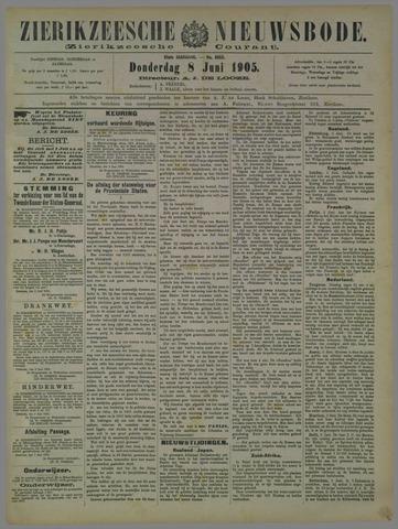 Zierikzeesche Nieuwsbode 1905-06-08