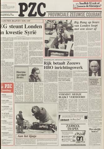 Provinciale Zeeuwse Courant 1986-10-28