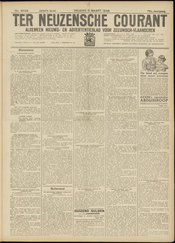 Ter Neuzensche Courant. Algemeen Nieuws- en Advertentieblad voor Zeeuwsch-Vlaanderen / Neuzensche Courant ... (idem) / (Algemeen) nieuws en advertentieblad voor Zeeuwsch-Vlaanderen 1938-03-11