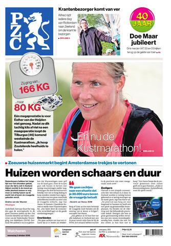 Provinciale Zeeuwse Courant 2018-10-03