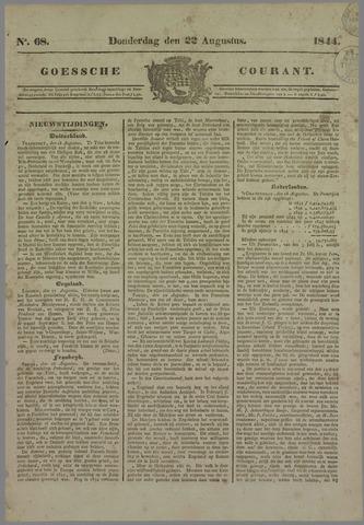 Goessche Courant 1844-08-22