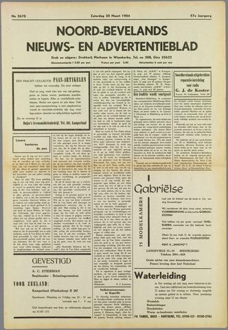Noord-Bevelands Nieuws- en advertentieblad 1954-03-20