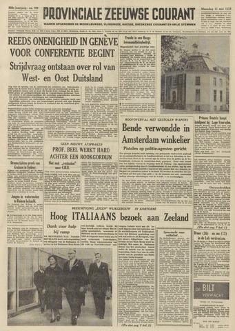 Provinciale Zeeuwse Courant 1959-05-11