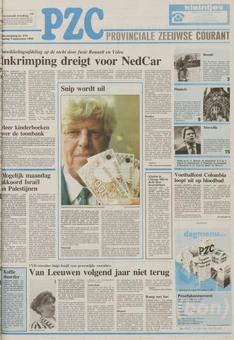 Provinciale Zeeuwse Courant 1993-09-07