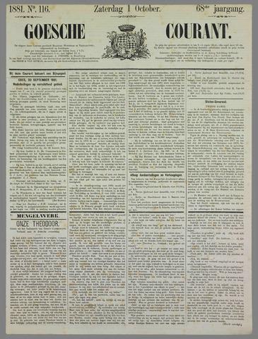 Goessche Courant 1881-10-01