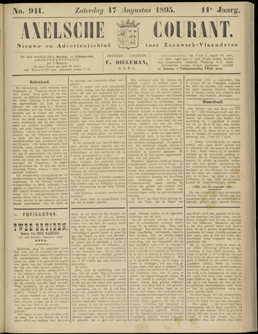 Axelsche Courant 1895-08-17