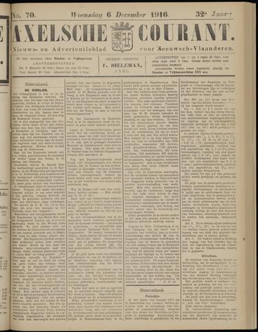 Axelsche Courant 1916-12-06