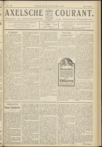 Axelsche Courant 1927-01-21