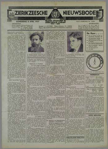 Zierikzeesche Nieuwsbode 1937-04-08