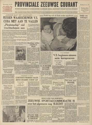 Provinciale Zeeuwse Courant 1962-09-12