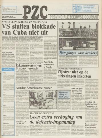 Provinciale Zeeuwse Courant 1981-02-23