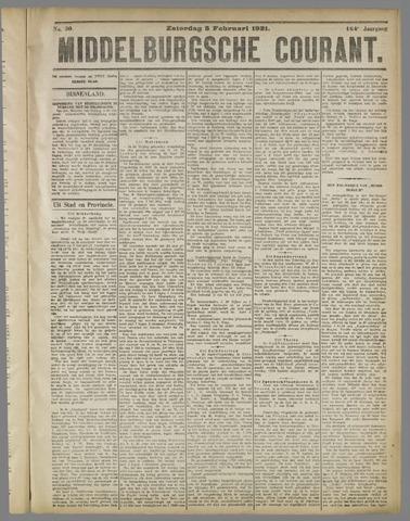 Middelburgsche Courant 1921-02-05
