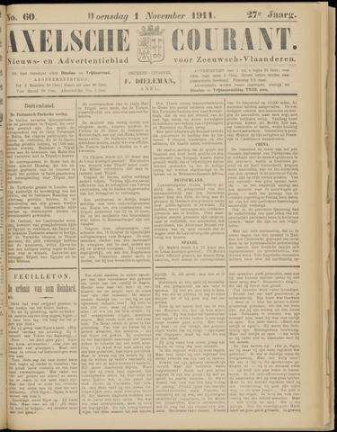Axelsche Courant 1911-11-01