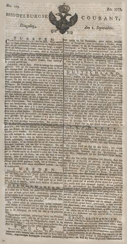 Middelburgsche Courant 1777-09-02
