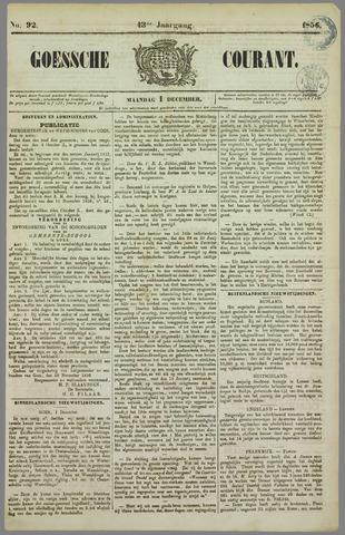 Goessche Courant 1856-12-01