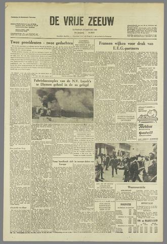 de Vrije Zeeuw 1963-01-19